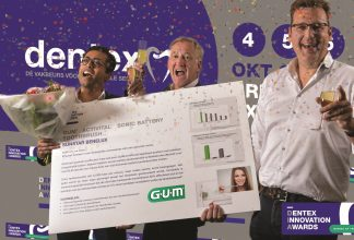 Sunstar GUM - GUM® Sonic Batteri-Tannbørste vinner Dentex Innovation Award