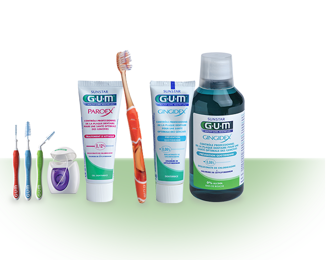 Sunstar GUM - Solution - <b>Soin des gencives  </b>