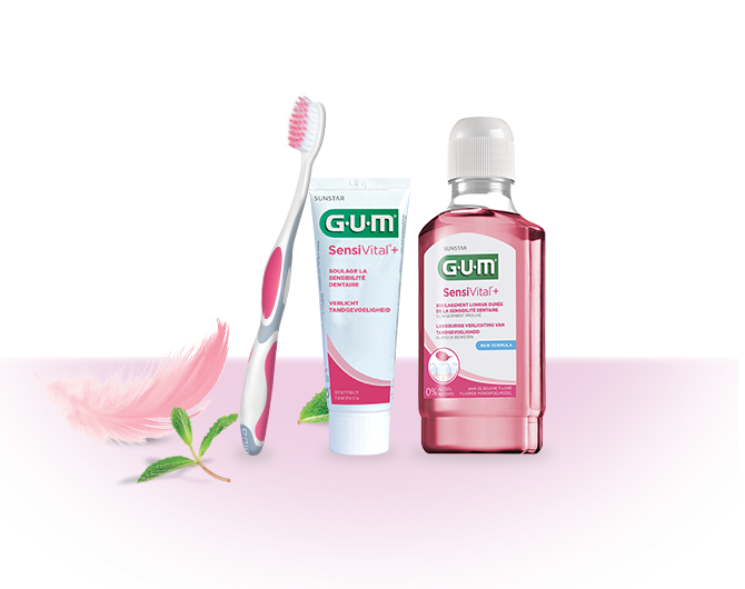 Sunstar GUM SensiVital + Solution
