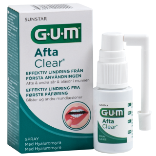 Sunstar GUM - GUM® AftaClear Spray