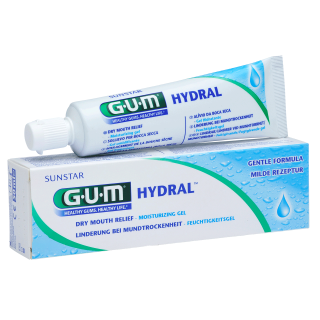Sunstar GUM - GUM® HYDRAL® Moisturizing Gel - Moisturizes in case of xerostomia