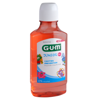 Sunstar GUM - GUM Junior Monsters Mouthrinse 6+