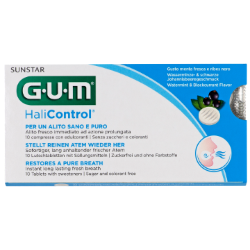 Sunstar GUM - GUM® Halicontrol™ Tabletki do ssania