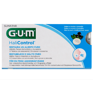Sunstar GUM - Tabletas - Tabletas GUM® Halicontrol™