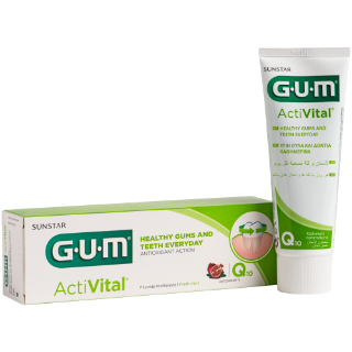 Sunstar GUM - GUM® ActiVital® Toothpaste - Daily protection for your patients' gums