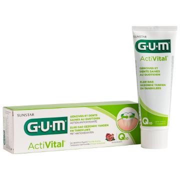 Sunstar GUM - Gel Dentifrice GUM ActiVital pour vos patients