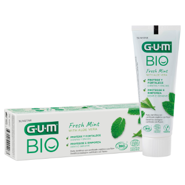 Sunstar GUM - GUM® BIO, il dentifricio con ingredienti vegetali | GUM®