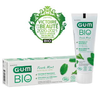 Sunstar GUM - Dentifrice GUM bio et naturel pour vos patients