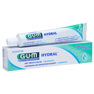 Sunstar GUM - GUM® HYDRAL® Toothpaste - Hydrates patients' dry mouth