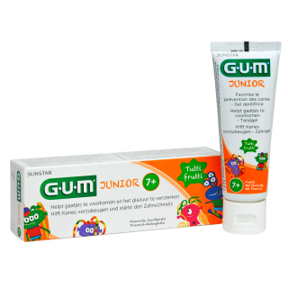 Sunstar GUM - GUM® Junior Tandpasta 7+