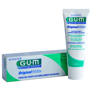 Sunstar GUM - Dentifrice GUM Original White pour vos patients