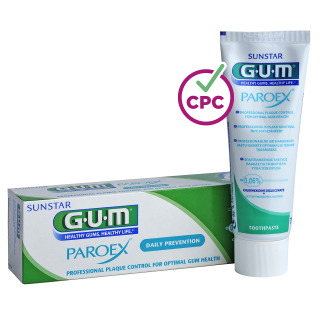 Sunstar GUM - GUM® PAROEX® 0,06% Maintenance Toothpaste - Periodontal maintenance